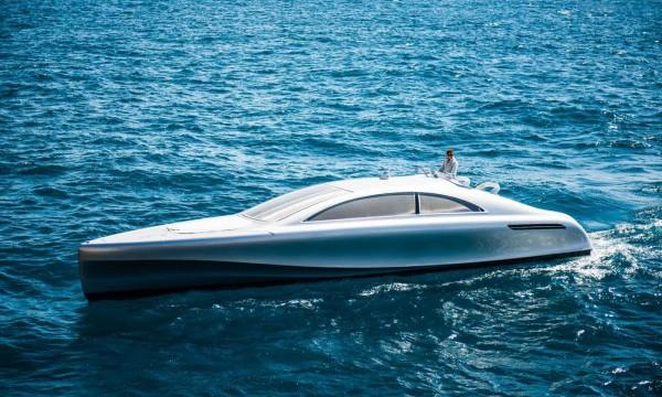 进军海洋市场, Mercedes 公司发布豪华游艇
