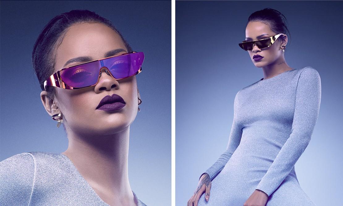 尽显奢华,Rihanna 联手 Dior 发布合作太阳镜系列