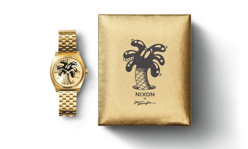 NIXON x STEVEN HARRINGTON 合作腕表系列