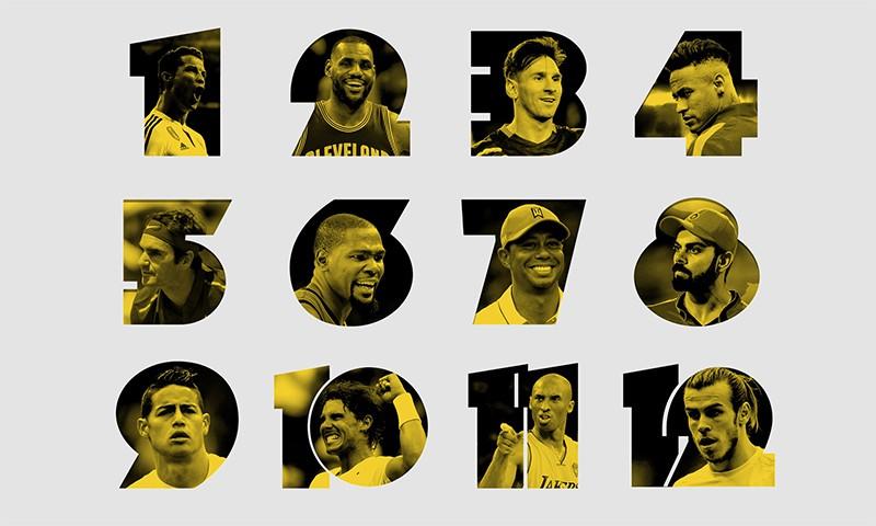 ESPN 公布全球知名球员 Top 100 排行榜,你的偶像排第几?