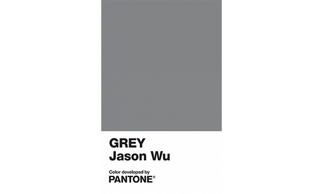 Pantone 又推出了一款新颜色,这次是跟 Jason Wu 合作的专属灰