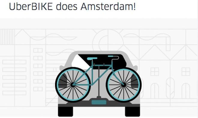 UberBIKE 将送你和自行车一起回家