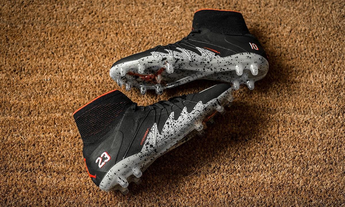 绿茵场上的飞人,NJR x JORDAN 联名 Hypervenom 足球鞋细赏