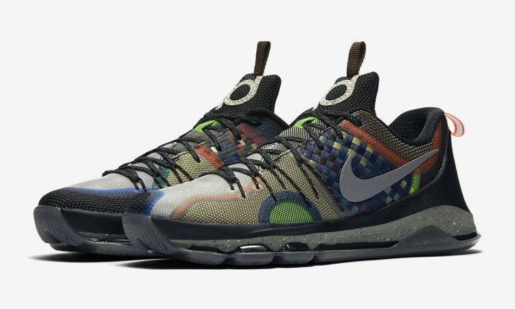 "Nike 用 ""What The"" 元素为 KD 8 呈现完美收官"