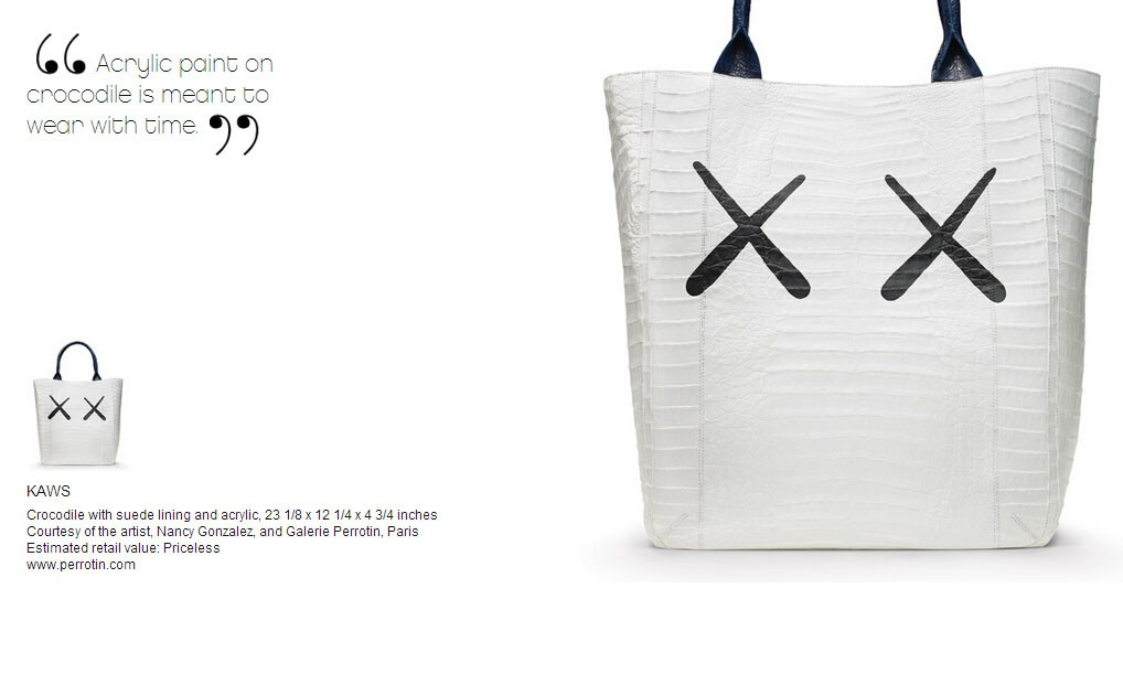 """没买到 """"BFF"""" 周边也没关系,你还有这款 KAWS 包包可以选择"""