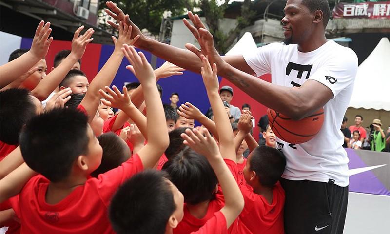 Kevin Durant 正式展开 Nike Basketball 中国之旅