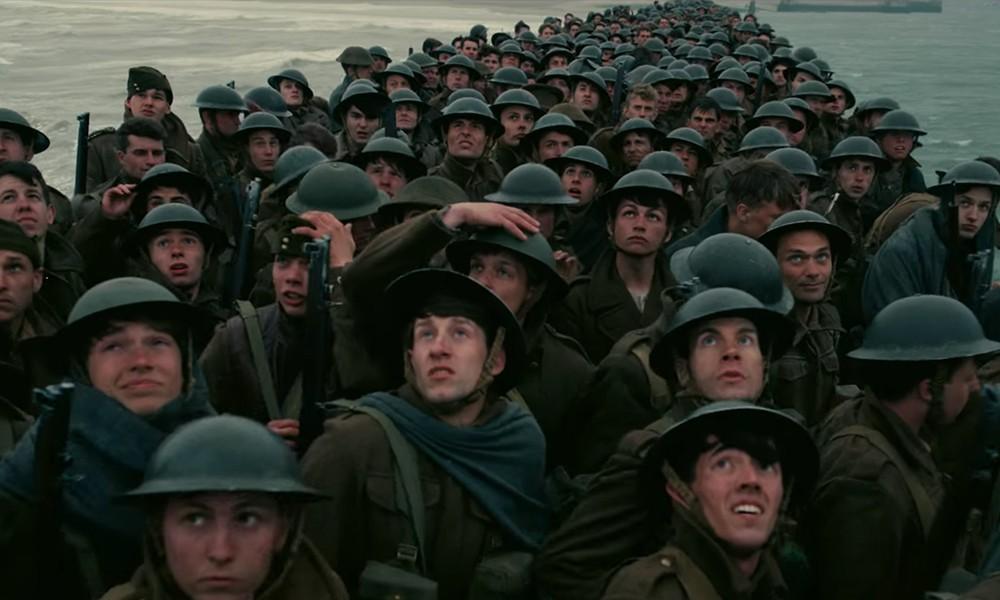 首触战争题材,诺兰最新作《敦刻尔克》首支预告片发布