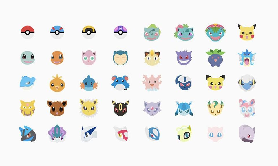 或许再过不久就能用到 Pokémoji 小精灵表情包了
