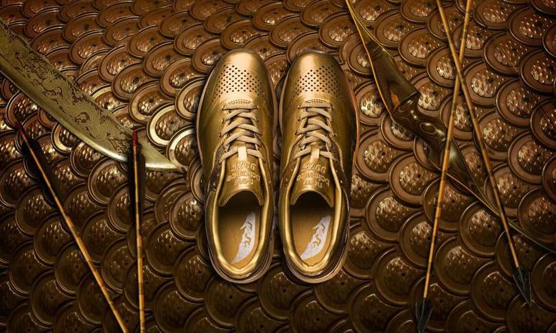 """这双""""黄金甲"""" 997.5,可能是周杰伦最喜欢的设计"""