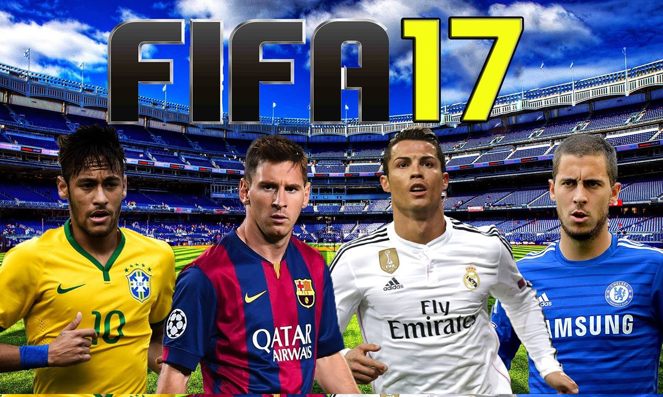 《FIFA 17》球员能力值公布,看看谁是第一?