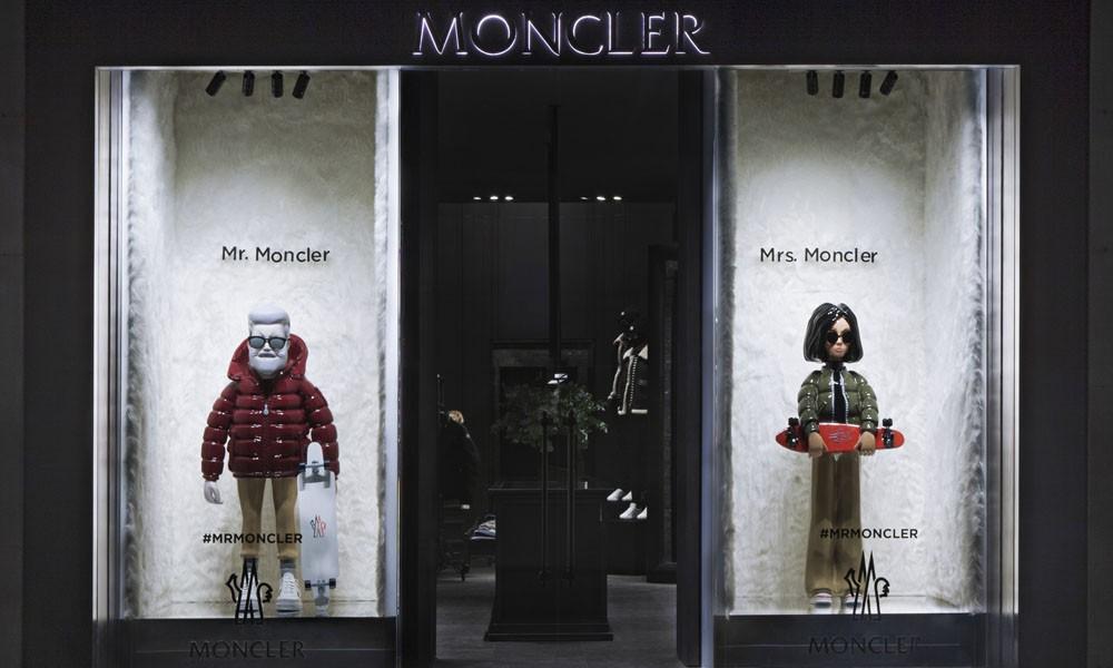 MONCLER 选用虚拟情侣作为品牌全新形象大使