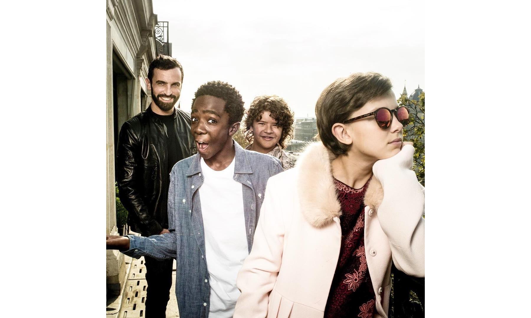 """《怪奇物语》中的小演员们这次又成了 Louis Vuitton 的 """"新目标"""""""