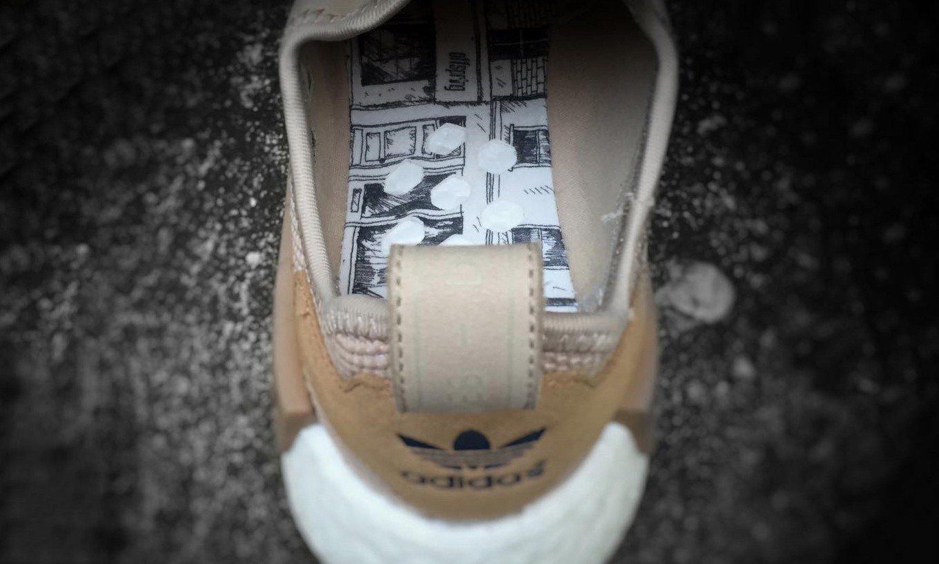 以英伦摇滚为主题,adidas x Offspring 联名 NMD 鞋款曝光