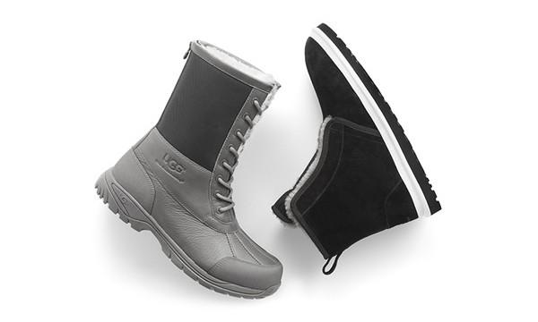 """在""""草鞋""""之后,UGG 与 White Mountaineering 又合作打造了两双靴款设计"""