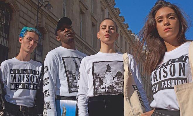 MAISON KITSUNÉ 为自家唱片合辑推出纪念系列