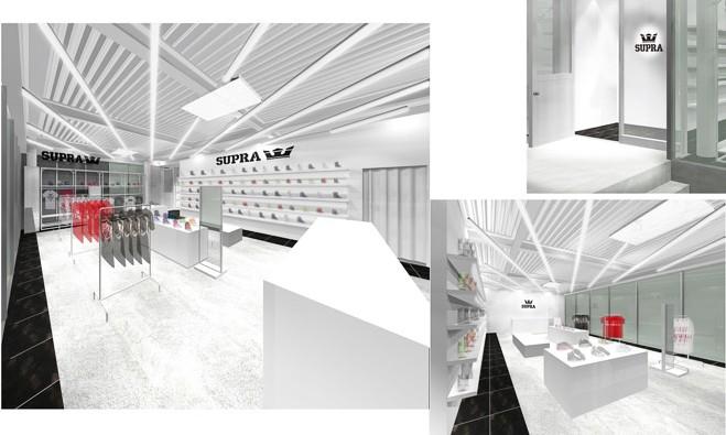 SUPRA 创立 10 周年于日本开设首家旗舰店