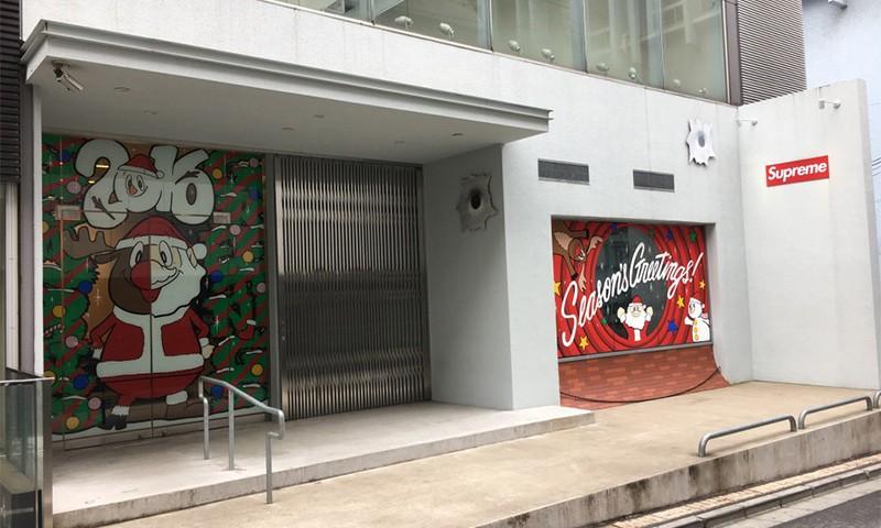 看一看 Supreme 日本门店如何迎接圣诞节