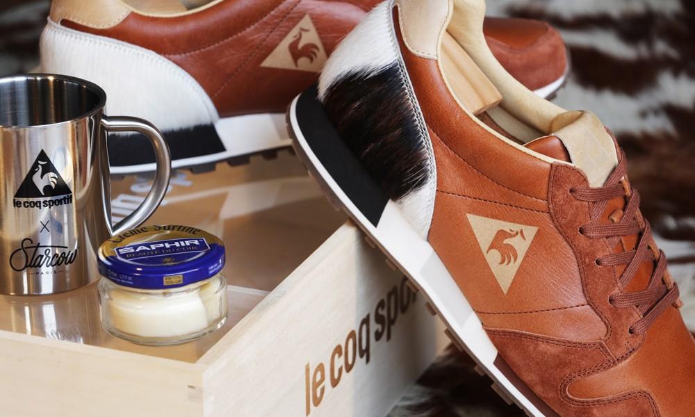 Starcow x Le Coq Sportif OMEGA 超限定联名鞋款