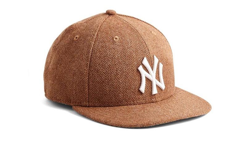 New Era x Todd Snyder 带来人字纹羊毛棒球帽款