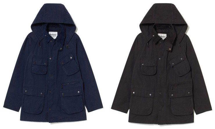 White Mountaineering x Barbour OVERDYED JACKET 登场