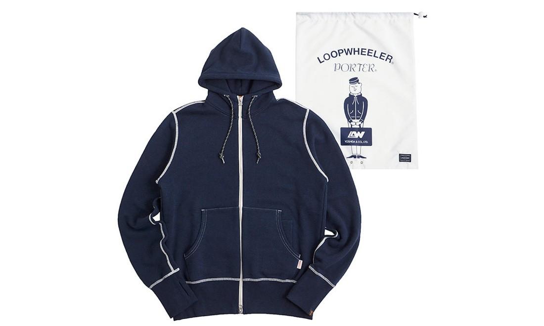 LOOPWHEELER x PORTER 合作系列公布