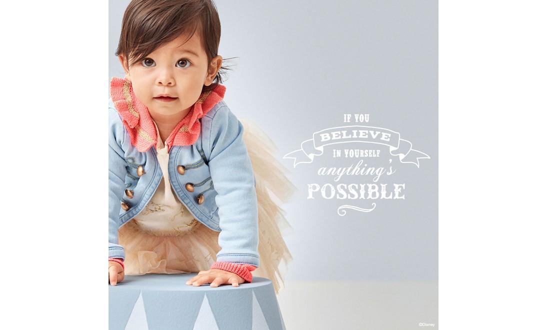 GAP x Disney 婴童服装联名系列