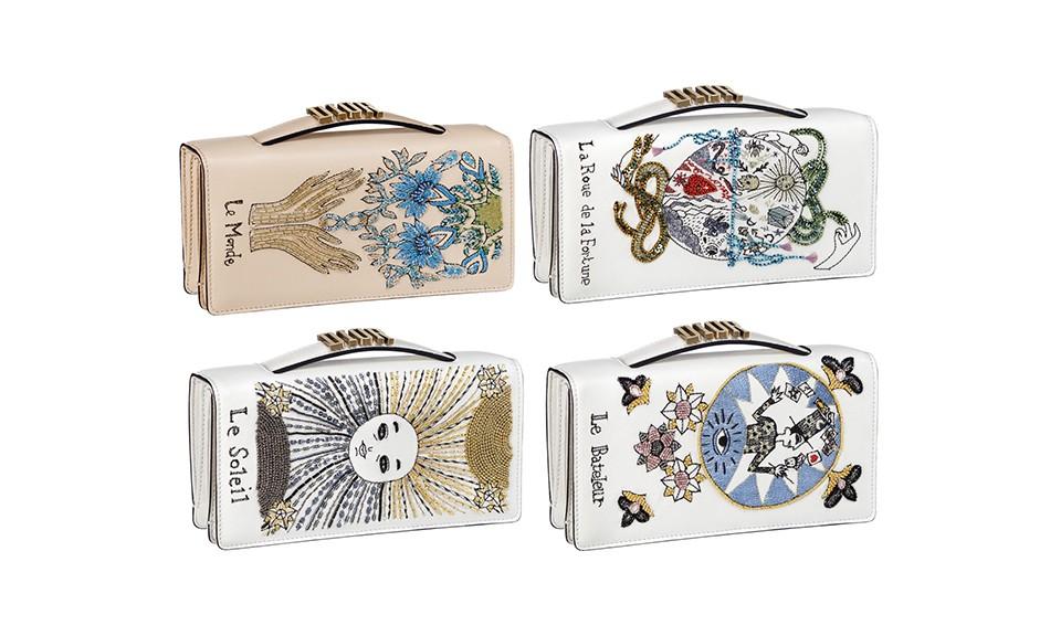 Dior 以 12 星座、塔罗牌为灵感设计手袋