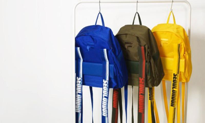 D-ANTIDOTE 携手 FILA 打造联名背包系列