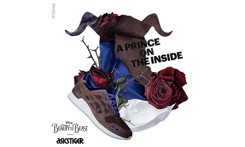 "Disney 携手 ASICS Tiger 打造 GEL-Lyte III ""Beauty and the Beast"" 配色"