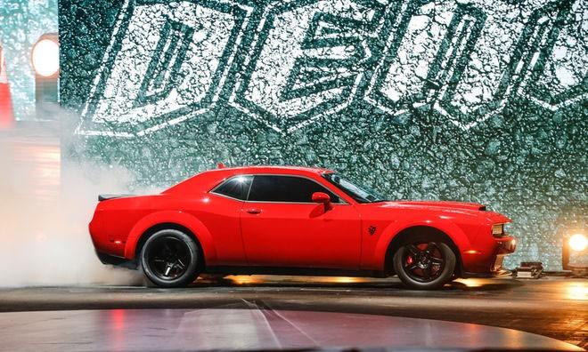 史上最快肌肉车,Dodge Challenger SRT Demon 发布