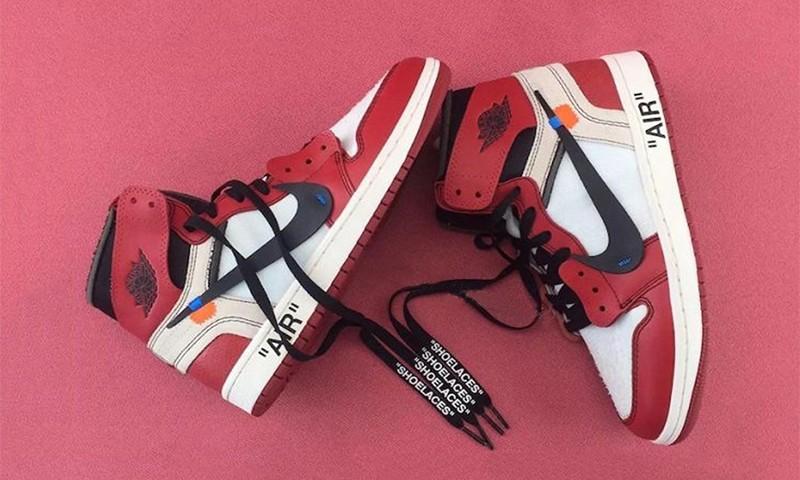 近赏 OFF-WHITE x Air Jordan I 联乘鞋款
