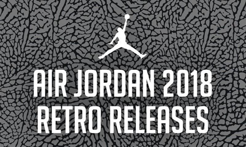 Jordan Brand 将在 2018 带来的鞋款都在这里了